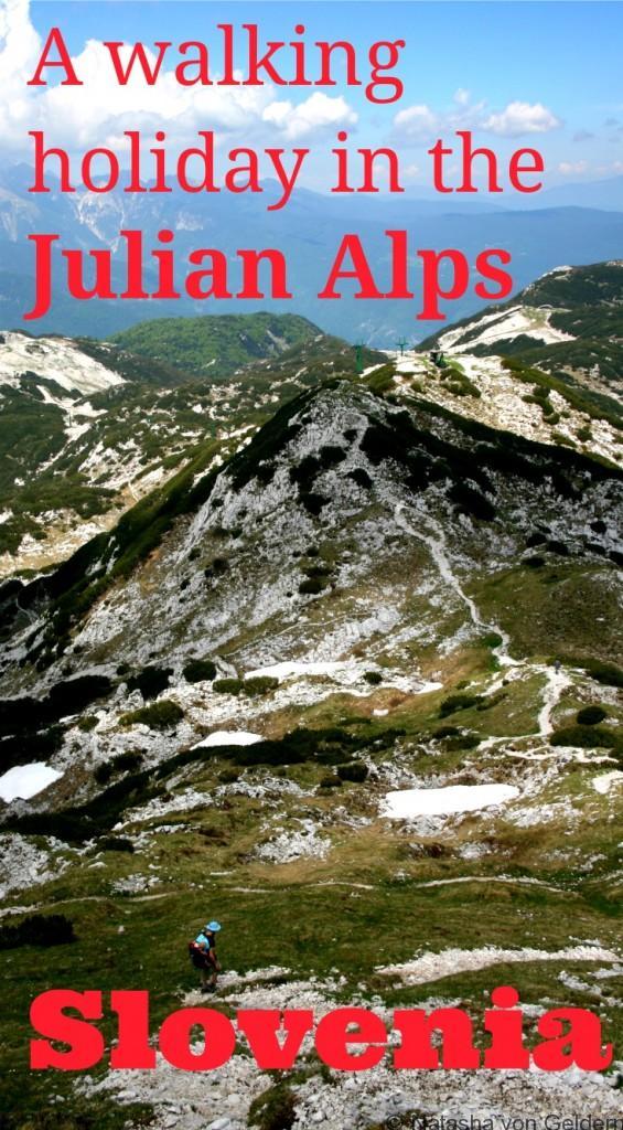 Hiking in the Julian Alps Slovenia