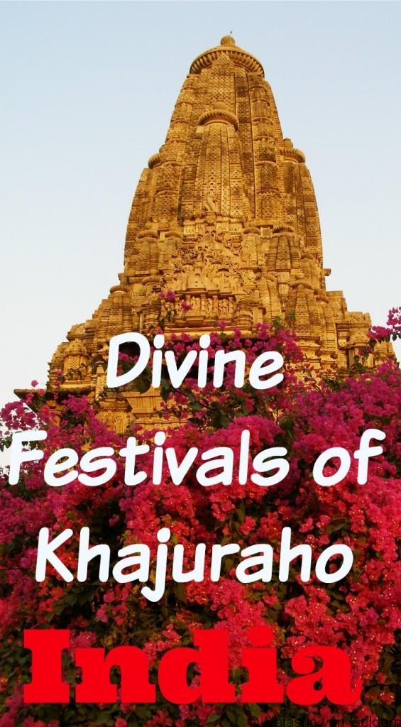 Festivals and temples of Khajuraho India