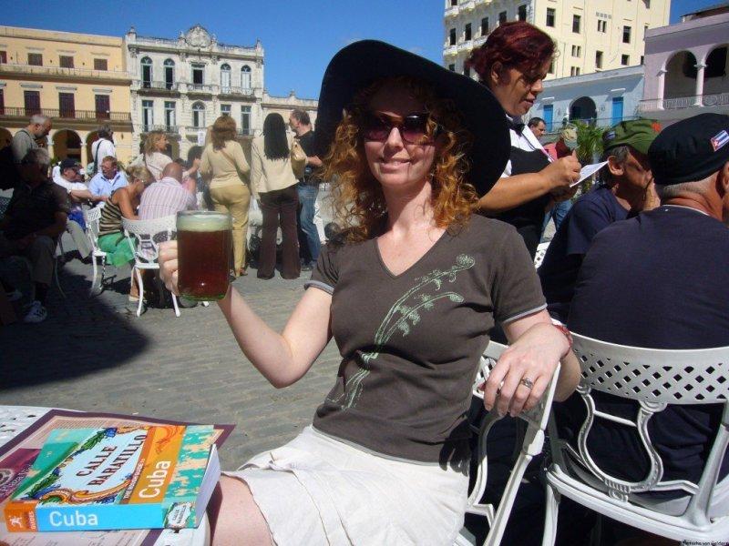 Beer in Havana, Cuba