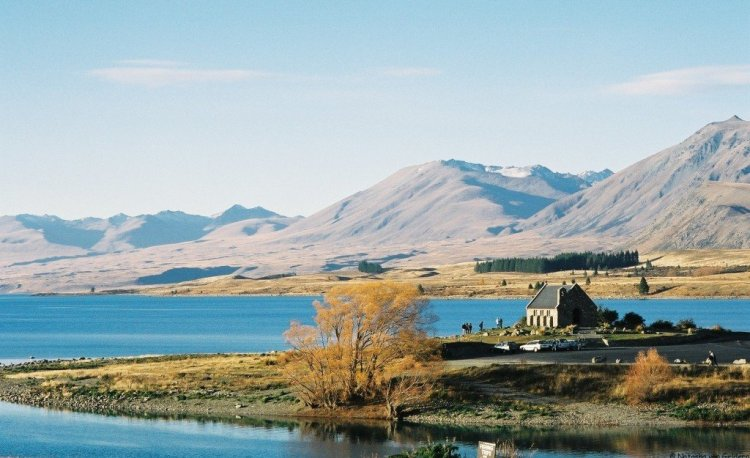 Church of Good Shepherd, Tekapo, New Zealand