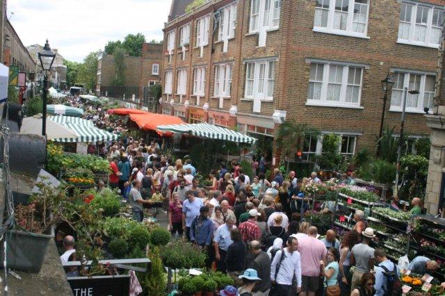 Colombia Road Flower Market, east London