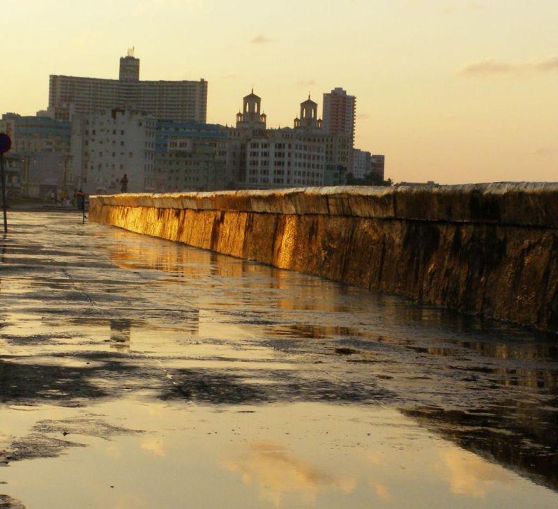 Havana sunset, Cuba