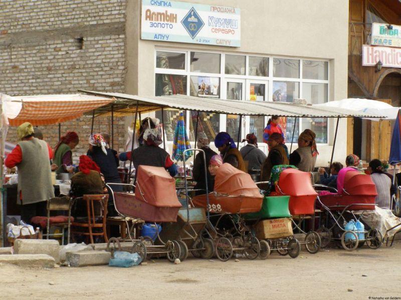 Kochkor, Kyrgyzstan, Central Asia