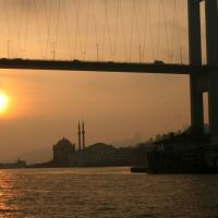 Taking the Bosphorus cruise from Istanbul