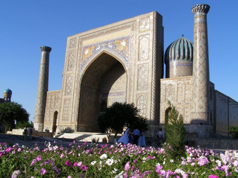 The Registan, Samarkand, Central Asia