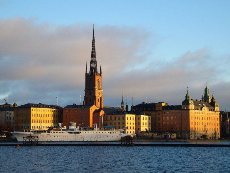 Photos of Stockholm in winter, Sweden