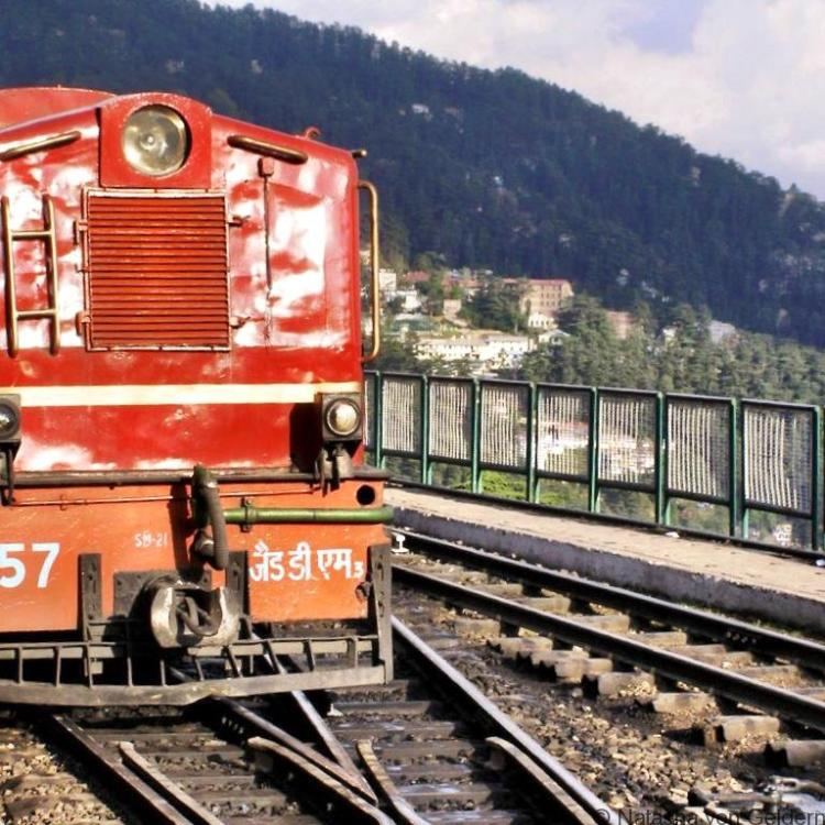 The Himalayan Queen toy train to Simla India