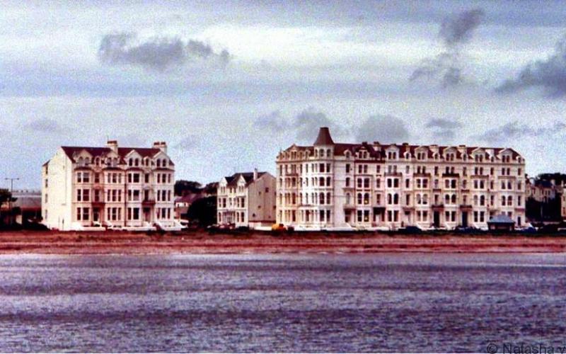 Douglas waterfront on the Isle of Man