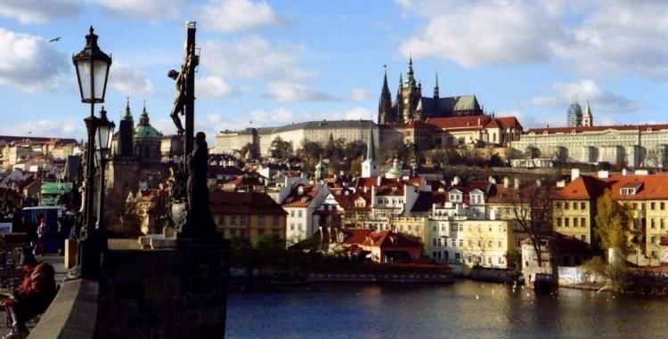 From the Charles Bridge, Prague, Czech Republic
