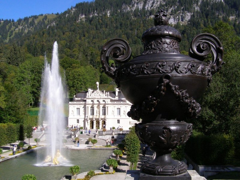Linderhof Castle, Bavaria, Germany
