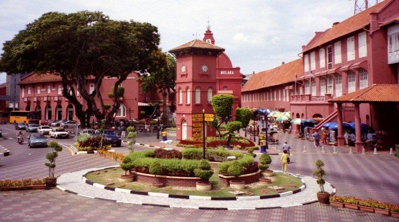 Town square, Melaka, Malaysia