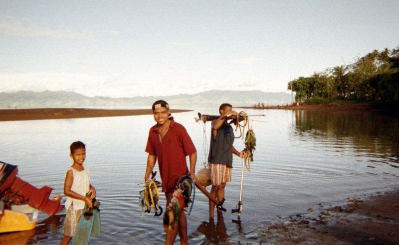 Fishermen, Fiji
