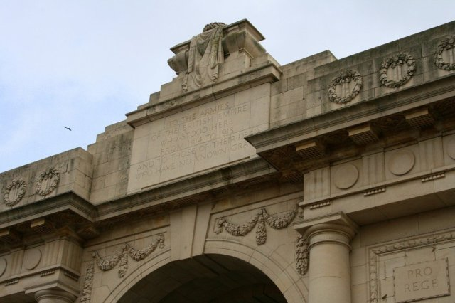 Menin Gate, Battlefields of the Western Front, Belgium
