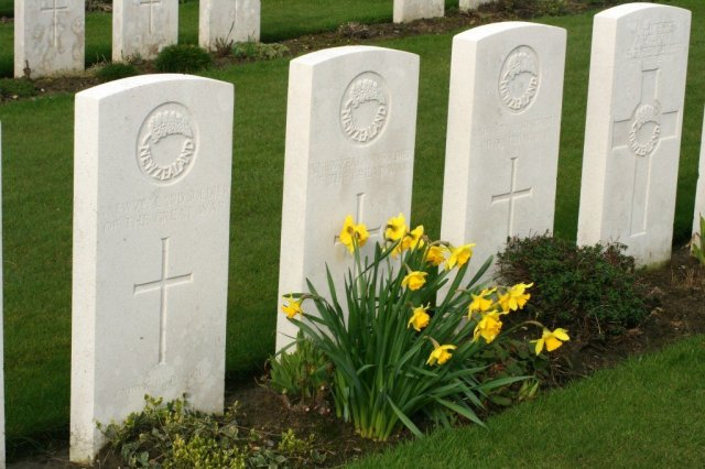 Tyne Cot Cemetery, Battlefields of the Western Front, Belgium