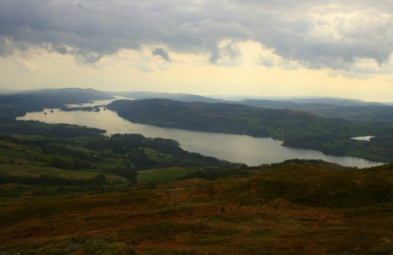 Lake Windermere - English Lake District Day walks