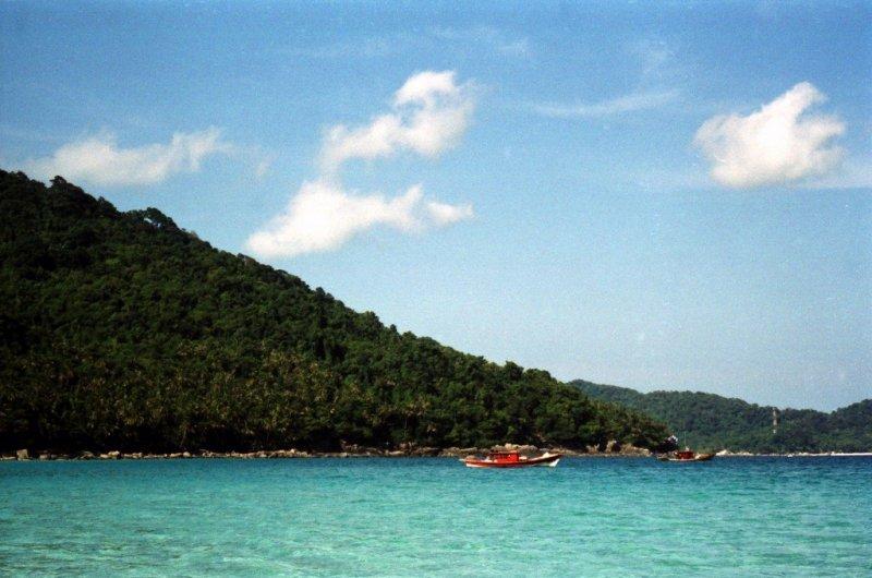 Fishing boats, Perhentian Islands, Malaysia