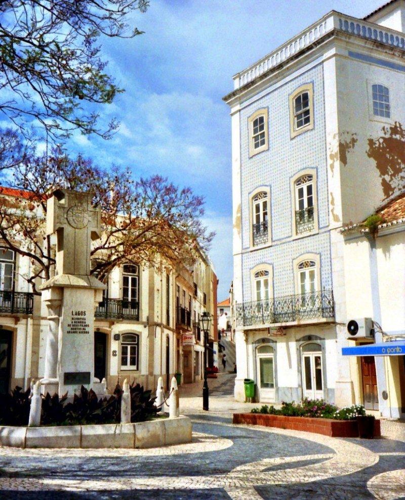 Lagos square, Algarve Portugal