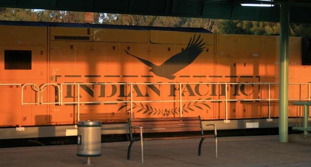 Indian Pacific rail journey, Australia