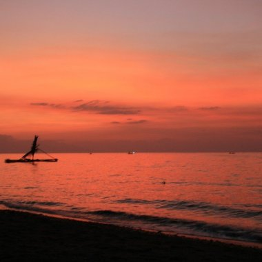 Lovina sunset, North Coast Bali