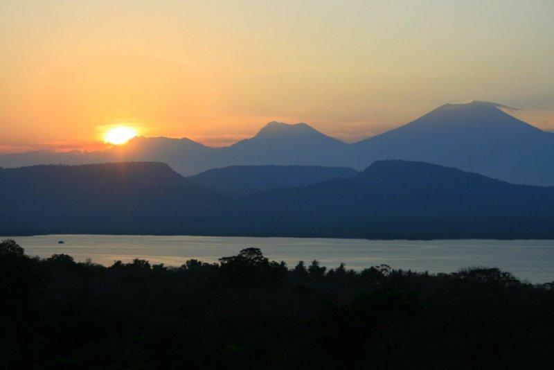 Sunset West Bali National Park