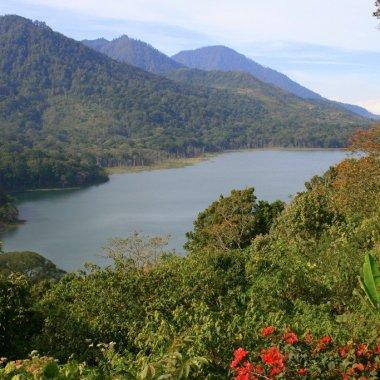 Lake Temblingan, Bedugul, Bali's Central Highlands