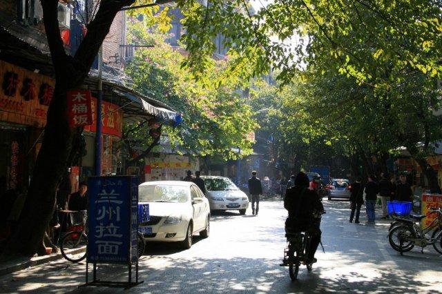 Guangzhou street, China