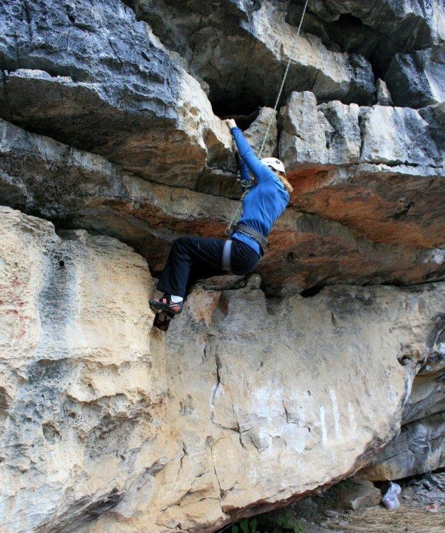 Yangshuo rock climbing NvG