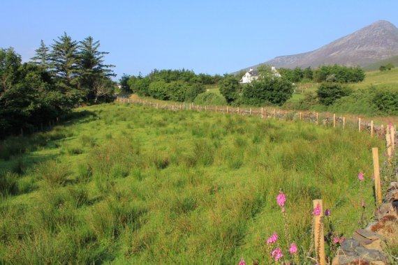 Muckish and Donegal countryside Ireland
