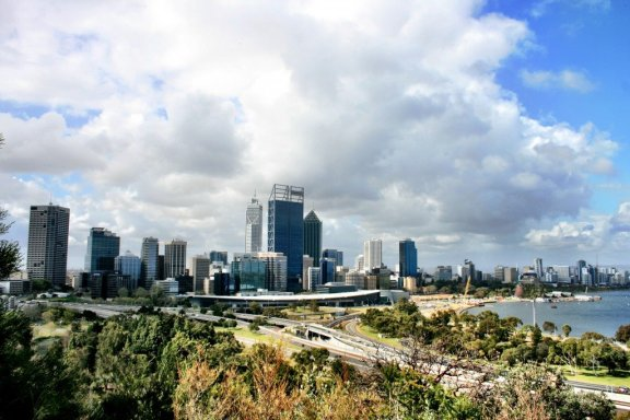 Perth from King's Park