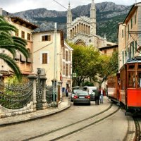 Spain: Riding the Tren de Soller in Mallorca