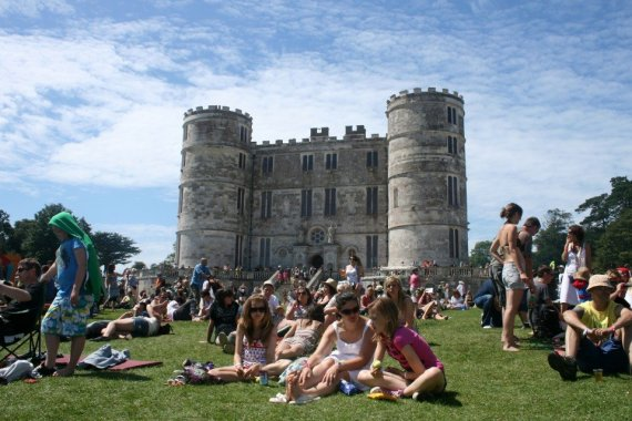 Lulworth Castle Camp Bestival