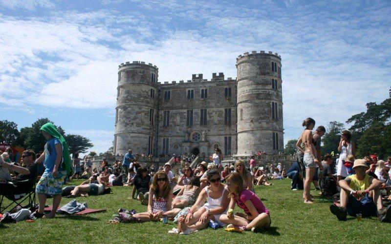 Lulworth Castle Camp Bestival