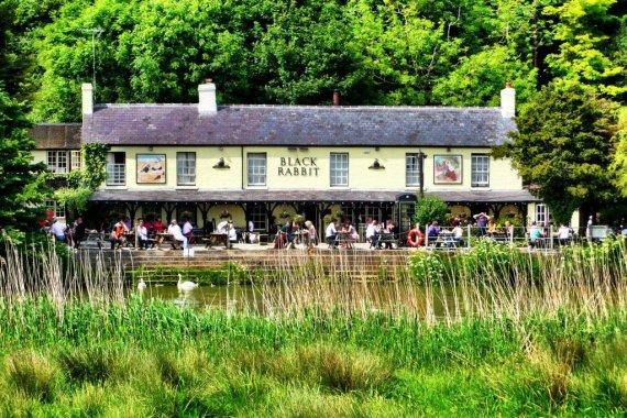 The Black Rabbit pub - West Sussex