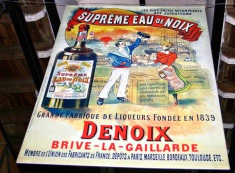 Denoix distillery in Brive la Gaillarde, France