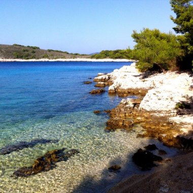 Exploring the Pakleni archipelago, Croatia