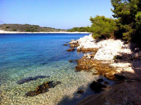 Exploring the Pakleni archipelago, Croatia