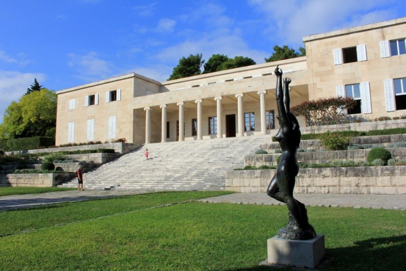 Mestrovic Gallery in Split, Croatia