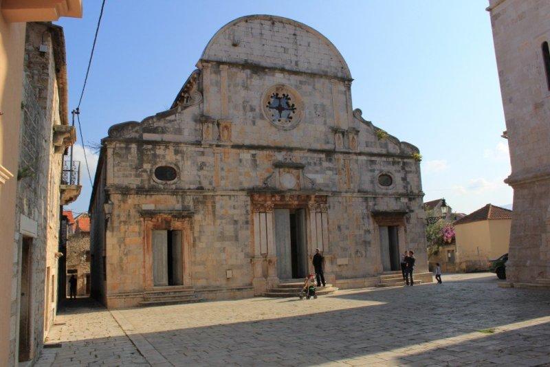 Stari Grad Cathedral, Hvar Croatia