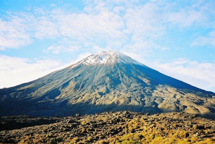 Mt Ngaruahoe landscape, New Zealand
