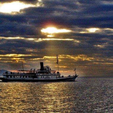 Cruise on Lake Geneva Switzerland