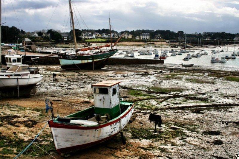 France - Brittany fishing village