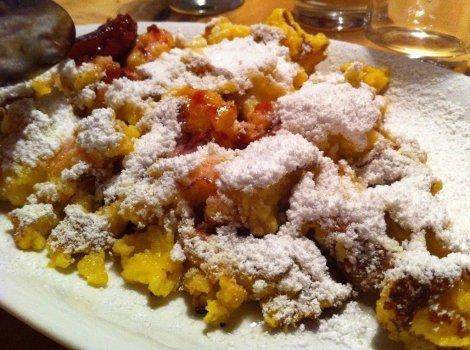 Kaiserschmarrn dessert in Austria