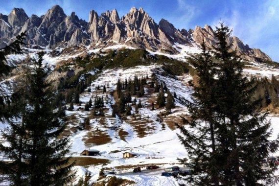 The Hochkonig from Arthurhaus ski area - Austria