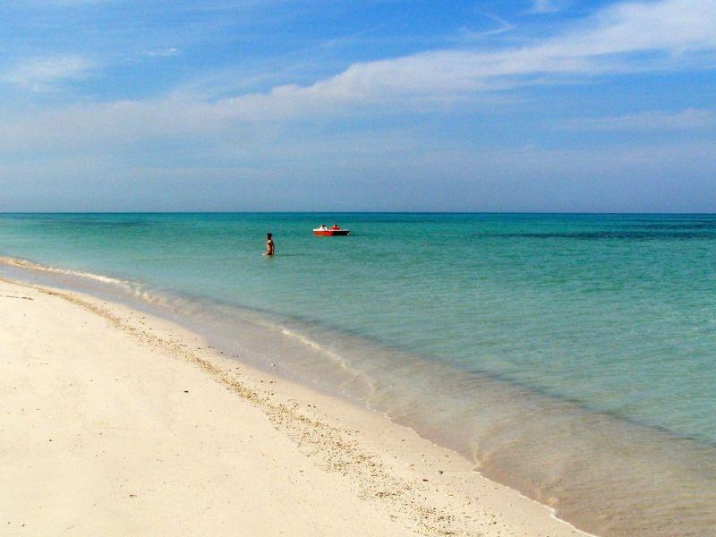 Caribbean beach paradise