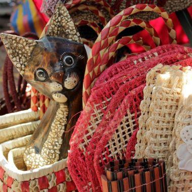 Crafts - Gaya Street Sunday Market Kota Kinabalu Malaysia