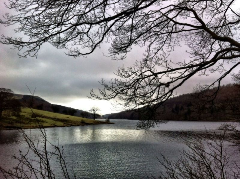 Ladybower Reservoir, Derbyshire England