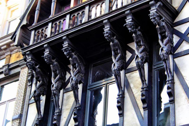 Zurenborg decorations, Antwerp Belgium