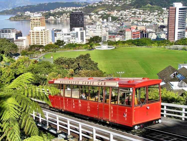 Cable Car Wellington New Zealand