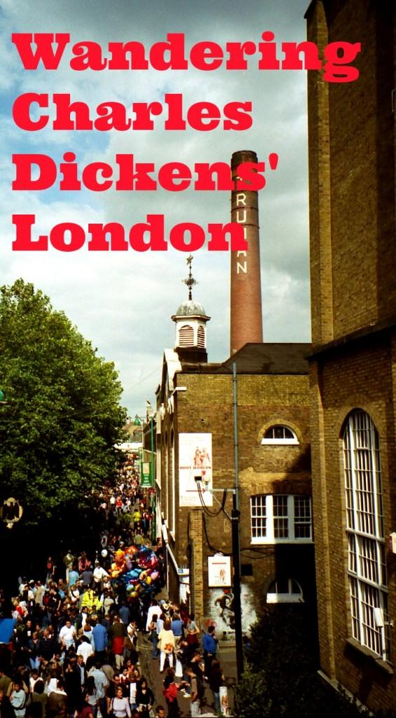 Charles Dickens London guide