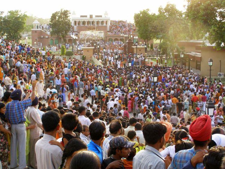 Waggah border ceremony, Punjab India